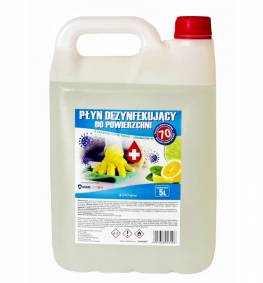 Machine disinfection alcohol 70% - 5L for viruses / COVID-19