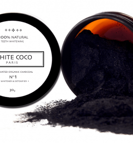 Activated carbon WHITE COCO 2x30g