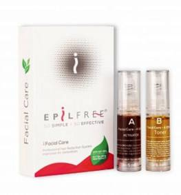 EpilFree Facial Care Professional Hair Removal 2x5ml Epil Free